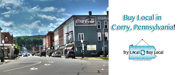 Buy Local - Corry PA