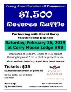 Corry Area Chamber Of Commerce Inc 2019 Community Events